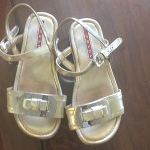 Barely worn Prada sandals